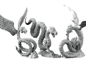 3D printable model Wyrms