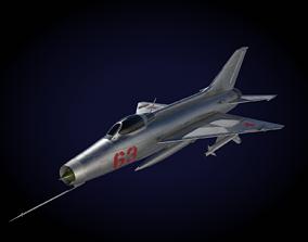 3D model MiG-21 F-13 Fishbed C