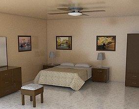 3D asset Furnished Room