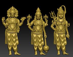 3D print model The Hindu gods