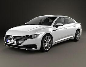 3D model Volkswagen Arteon 2017