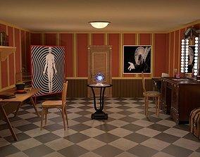 3D Magician room