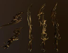 Sword Dune 3D model