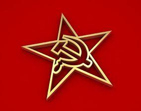 3D Communism Symbol