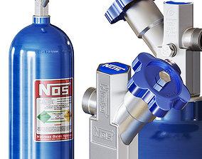 NOS - Nitrous oxide system 3D