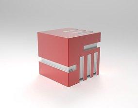 3D model Futuristic Dice