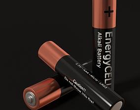 Battery AA 3D asset