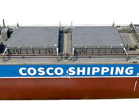 3D model Bulk carrier COSCO