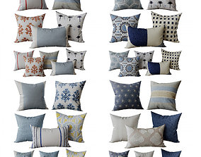 Decorative set pillow 7 3D