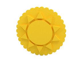 3D printable model Cookie stamp Stamp sun