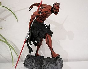 3D printable model Fan Art - Darth Maul