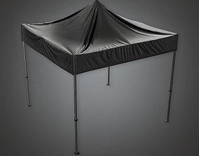 Outdoor Standup Tent HLW - PBR Game Ready 3D asset