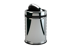 Trashcans Rotary Cover 8lt 3D