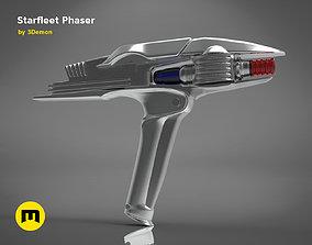 Starfleet Phaser - Star Trek 3D printable model