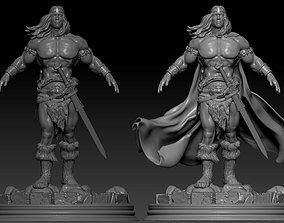 Conan Remix two models figurines