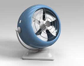 Fan cooler 3D model