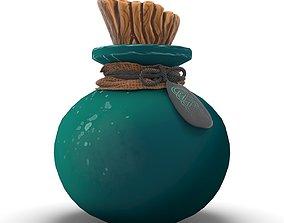 3D model Alchemy Fantasy Potion Bottle