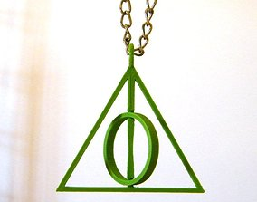The deathly hallows 3D printable model