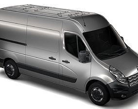 Renault Master L2H2 Van 2010 3D model