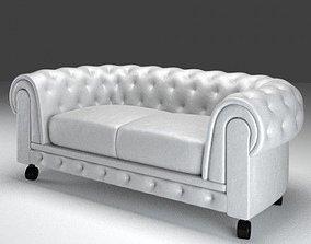Chesterfield Sofa 3D