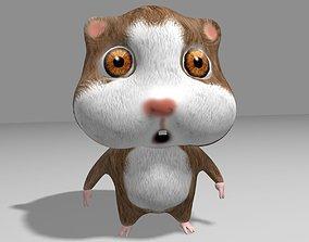 Hamster Toon 3D asset