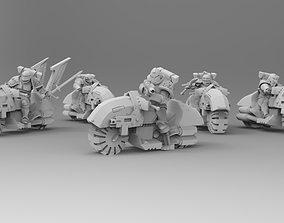 3D print model Knights of Roma - Mounted Knights