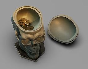 3D print model Skull Bank