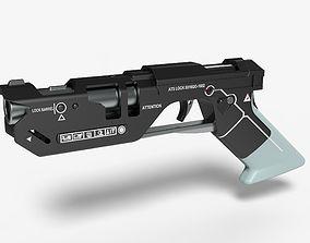3D model weapon Pistol from movie Oblivion