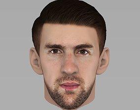 Michael Phelps 3D