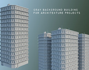 Background Building for Architecture Projects 1 3D model