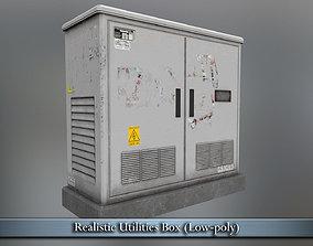 PBR Realistic Utilities Box 3D asset