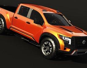 VR / AR ready Nissan Titan Warrior Concept 3D models Low