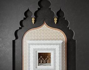 Arabic Fireplace 3D