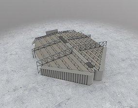 3D asset EDDH Hangar 4