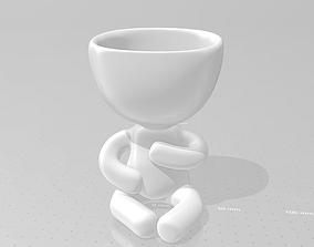 Roberta Plant - Pregnant 3D printable model