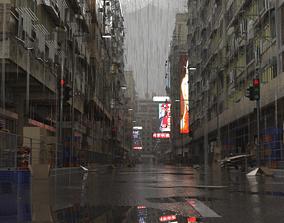 3D Dystopian Building Set 1