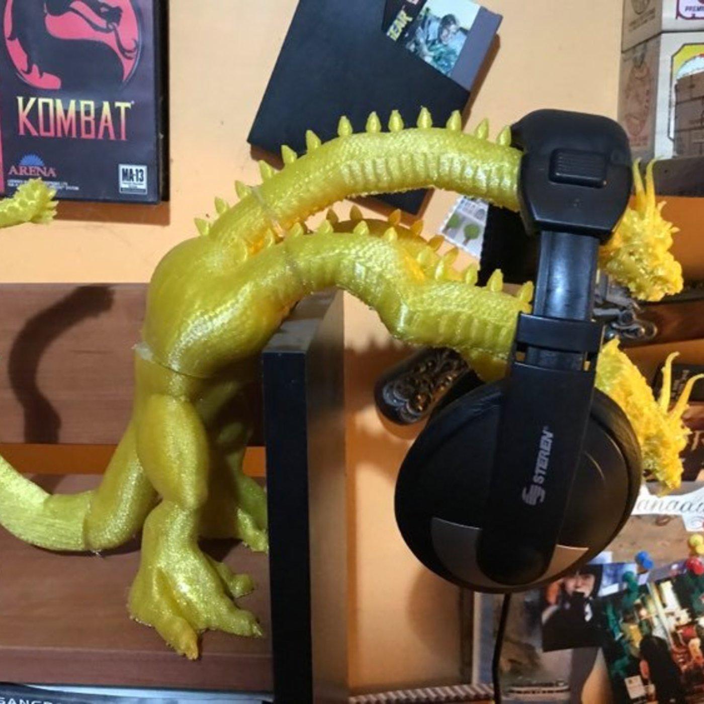King Ghidora Headphones Holder