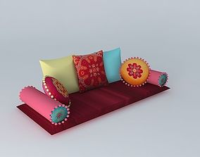ROULOTTE bench 3D model