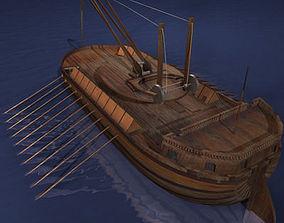 3D model Leonardo Assault battleship