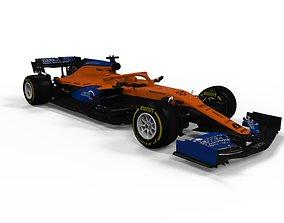 3D model Mclaren F1 2020 MCL35