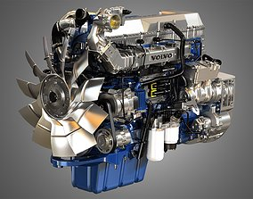 3D D13 Heavy Duty Truck Engine - 6 Cylinder Diesel Engine