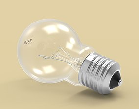 lighting 3D model Lightbulb