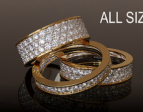 Infinity Ring Collection All sizes 3D printable model