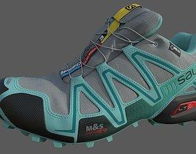 3D model Salomon Speedcross 3 Livery footwear