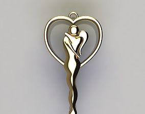 3D printable model Romance necklace
