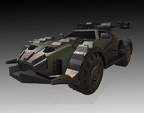 Road Rampage Car 3 3D model
