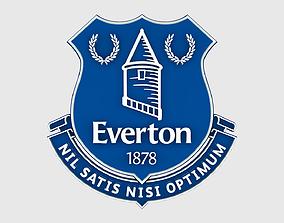 3D Everton Logo