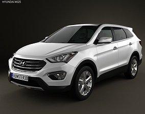 3D Hyundai Santa Fe 2012