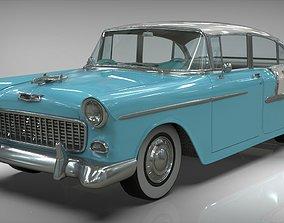 Chevy belair sedan 1955 3D model