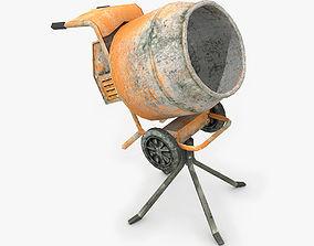 Cement Mixer 3D asset